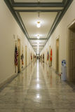 Kontorsbyggnad V för kanon för hallkorridorWashington DC inre Arkivfoton