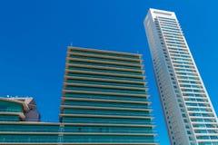 Kontorsbyggnadar Arkivfoto