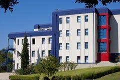 Kontorsbyggnadar i teknologipark i Campanillas Arkivfoton