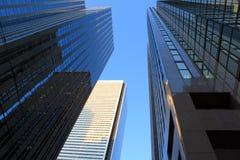 Kontorsbyggnader Fotografering för Bildbyråer