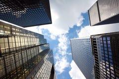 Kontorsbyggnader Arkivfoto