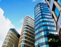 Kontorsbyggnader Arkivbild