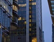 Kontorsbyggnader Arkivfoton