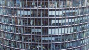 Kontorsbyggnader av en skyskrapa Berlin Royaltyfri Fotografi
