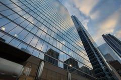 Kontorsbyggnader i i stadens centrum Toronto Arkivfoto
