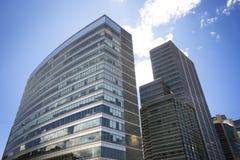 Kontorsbyggnader på Bogota, Colombia Fotografering för Bildbyråer