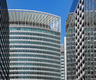 KontorsbyggnadFacade Arkivfoto