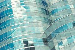 Kontorsbyggnadtexturslut upp för abstrakt bakgrund Fotografering för Bildbyråer