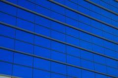 Kontorsbyggnadvägg Arkivfoton