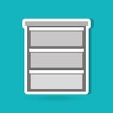 kontorsdokumentdesign Arkivbild