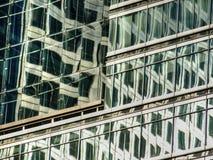 Kontorsfasad, London, Förenade kungariket Arkivfoton