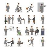 Kontorsfolkuppsättning vektor illustrationer