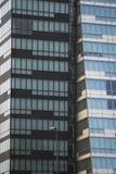 Kontorsgolvdetaljer av en modern skyskrapa Arkivfoton