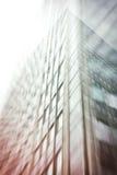 Kontorskomplex av höghus abstrakt bakgrund Royaltyfri Foto