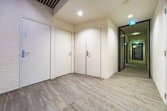 Kontorskorridor Fotografering för Bildbyråer