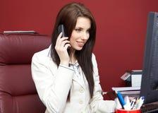 kontorskvinna Arkivbild
