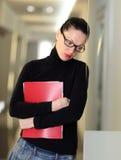 kontorskvinna Arkivfoton