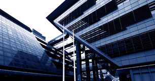 kontorspark Fotografering för Bildbyråer