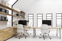 Kontorsrum i New York City Arkivfoton