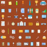 Kontorssymbol stock illustrationer