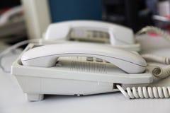 kontorstelefon två Royaltyfri Foto