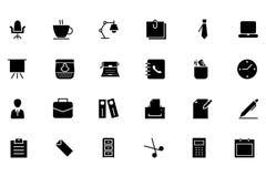 Kontorsvektorsymboler 1 vektor illustrationer