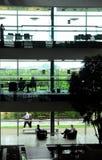 kontorsworkspace Fotografering för Bildbyråer