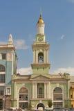 Kontraktova Square in Kiev, the capital of Ukraine Royalty Free Stock Images