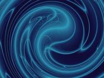 Kontrast-dunkelblauer Energie-Hintergrund Lizenzfreie Stockfotos