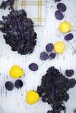 Kontrast-Gemüse Lizenzfreies Stockfoto