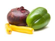 kontrast grönsaker royaltyfri fotografi