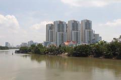 Kontrast i rozwój Wietnam zdjęcie royalty free