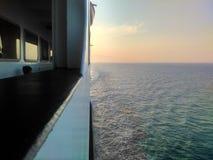 kontrast på havet Royaltyfri Fotografi