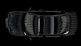 Kontrasta wizerunek samochód Obraz Stock