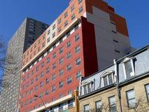 Kontrastierende Architektur Stockbild