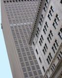 Kontrastierende Gebäude stockfotografie