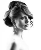 Kontrastreiches Portrait Stockfoto