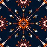 Geometryczny bezszwowy tło Obrazy Royalty Free