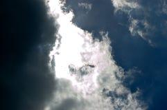Kontrastujący niebo obrazy royalty free