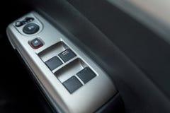 Kontrola guziki wśrodku samochodu Obrazy Royalty Free