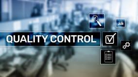 Kontrola jako?ci i zapewnienie standardisation gwarancja standardy Biznesu i technologii poj?cie ilustracji