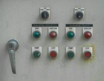 Kontroll av vattenpumpen Arkivfoto