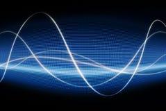 kontroll av waves Arkivfoton
