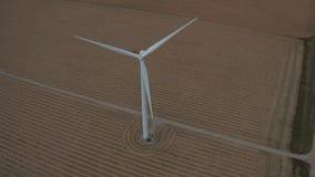 Kontroll för turbiner för Colorado vindlantgård lager videofilmer