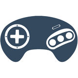 Kontrollant för uppkomst/MegaDrive lek Arkivfoton