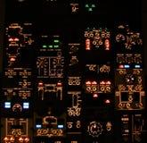 kontrollbord Arkivbild