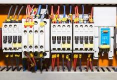 kontrollbord för strömkrets breakers1 Royaltyfria Bilder