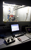Kontrollen für Motorprüfung stockfotos
