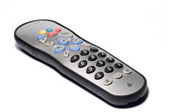 kontrollera den gråa remoten royaltyfri foto