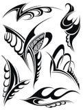 kontrollera designbilden min liknande tatuering för portföljen Royaltyfri Bild